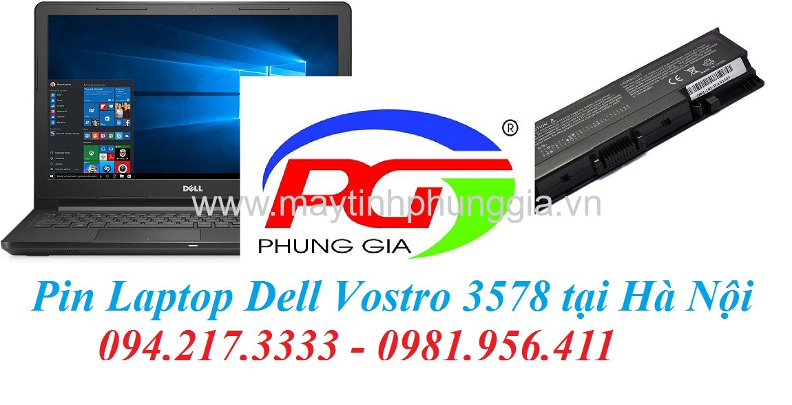 Thay Pin Laptop Dell Vostro 3578