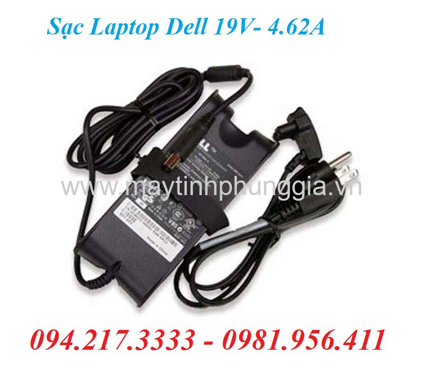 Sạc Laptop Dell 19V 4.62A