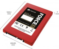 Thay ổ cứng SSD CORSAIR Force GS 128Gb