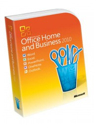 Cài đặt Office Home and Business 2010 32bit DVD ENGLISH (T5D-00396)