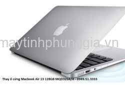 Thay ổ cứng Macbook Air 13 128GB MQD32SA/A
