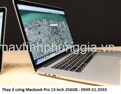 Thay ổ cứng Macbook Pro 13 inch 256GB
