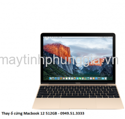 Thay ổ cứng Macbook 12 512GB