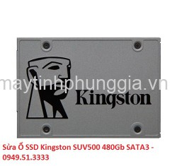 Sửa Ổ SSD Kingston SUV500 480Gb SATA3