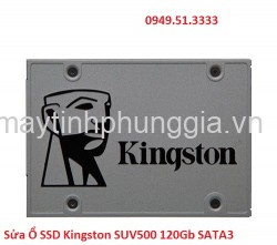 Sửa Ổ SSD Kingston SUV500 120Gb SATA3