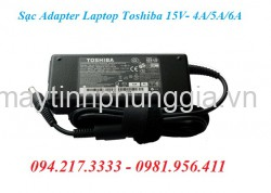 Sạc Adapter Laptop Toshiba 15V 4A - 5A - 6A