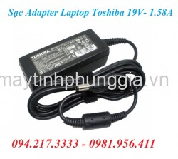 Sạc Adapter Toshiba Laptop 19V 1.58A