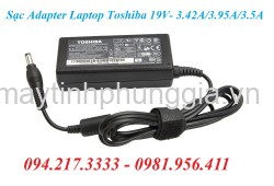 Sạc Adapter Laptop Toshiba 19V 3.42A 3.95A 3.5A