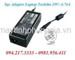 Sạc Adapter Laptop Toshiba 19V 4.74A