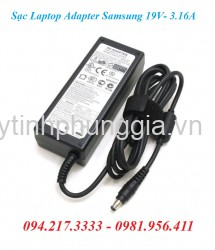 Sạc Adapter Laptop Samsung 19V 3.16A