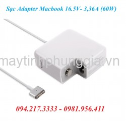 Sạc Adapter Macbook 16.5V 3,36A (60W)