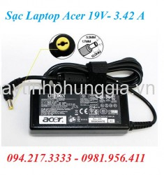 Sạc Adapter Laptop Acer Lition 19V 3.42 A