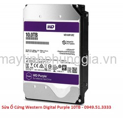 Sửa Ổ Cứng Western Digital Purple 10TB