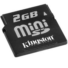 Sửa Thẻ nhớ Kingston SD Mini 2GB