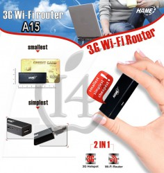 Sửa Thiết Bị Phát 3G + WIFI Router + Repeater - Mini HAME A15 (2 in 1)